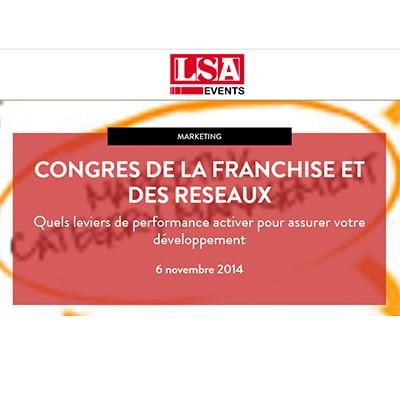 Visuel du Congres De La Franchise Et Des Réseaux