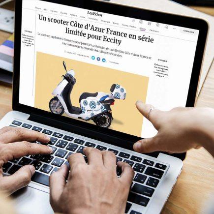 Retombées médias d'Eccity motocycles