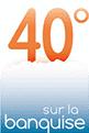 Logo agence 40 degrés sur la banquise