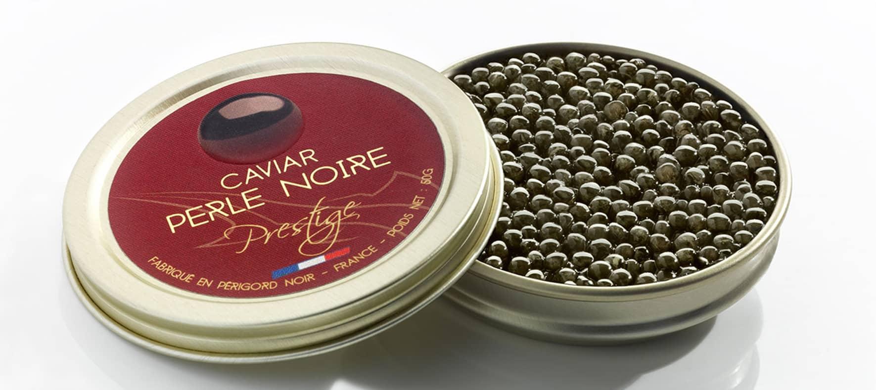 Caviar Perle Noire Prestige