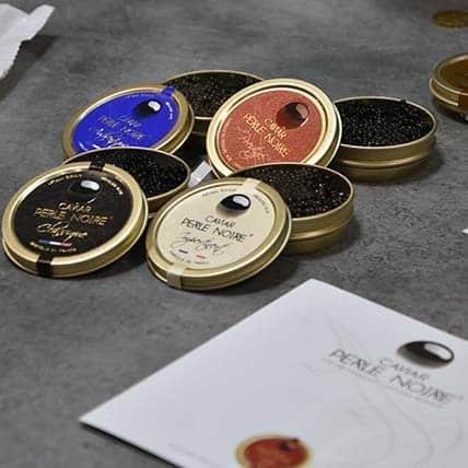 Caviar Perle Noire Relations Médias