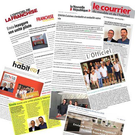 Journaux Envia Cuisines Articles Retombées Presse