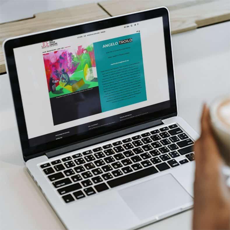 Réalisation du site de Jeune Création de Montrouge