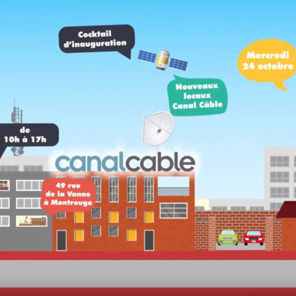Visuel d'Invitation de Canal Cable