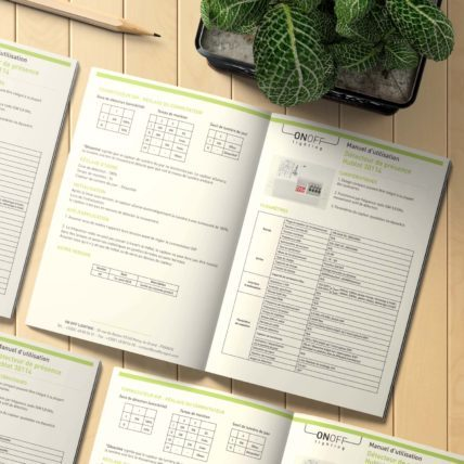 Mise en Page Notice pour On Off Lighting