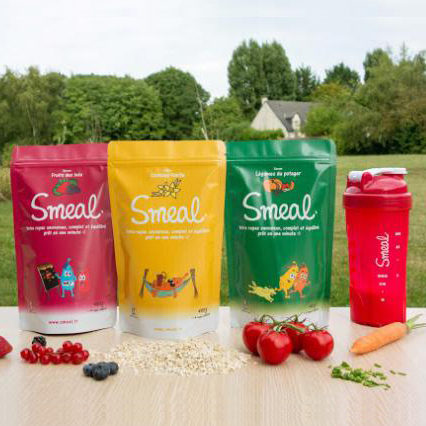 Refonte Packaging pour Smeal