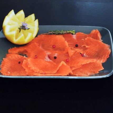 Saumon au Caviar Perle Noire pour la newsletter