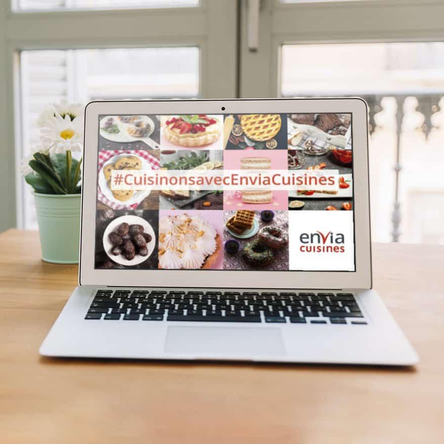 Visuel Envia Cuisines qui soutient les hôpitaux de France