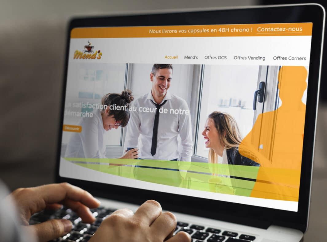 Site Web de Mend's