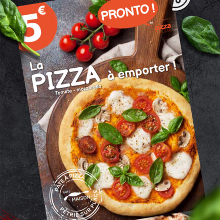 Flyer pour Pizza Roma