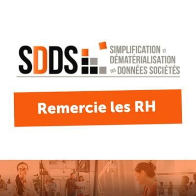 Flat Design pour Simplification Dématérialisation des Données Sociétés