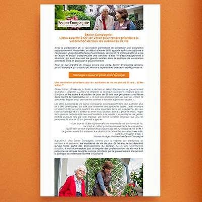 lettre ouverte à olivier veran senior compagnie