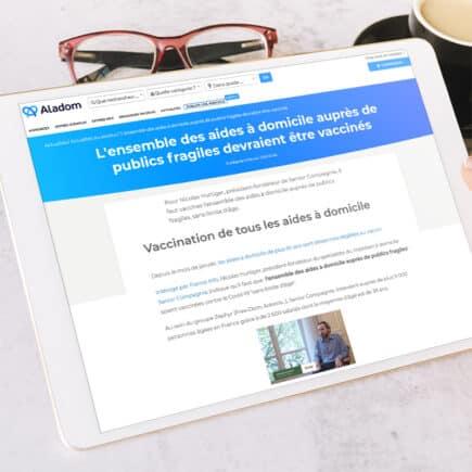senior compagnie article site web