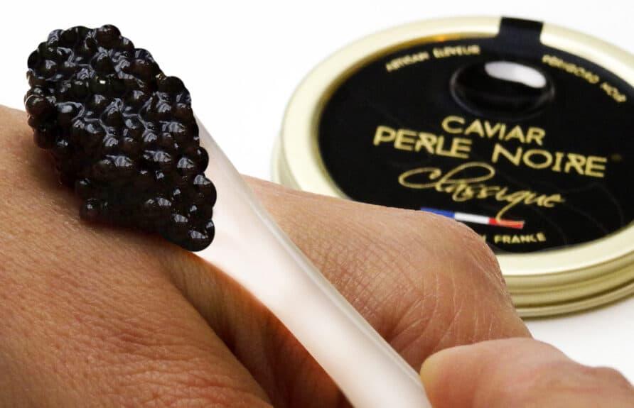 Caviar Perle Noire Classique a la russe