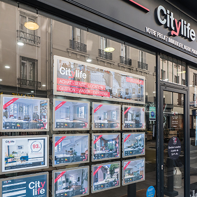 Vitrine CityLife Immobilier