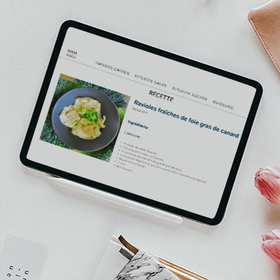 conception site internet la boutique de kakou